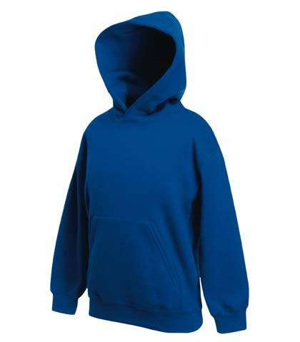 Fruite of the Dominate Kinder Kaputzenshirt, Hoodie, vers. Farben 116,Royal Blau