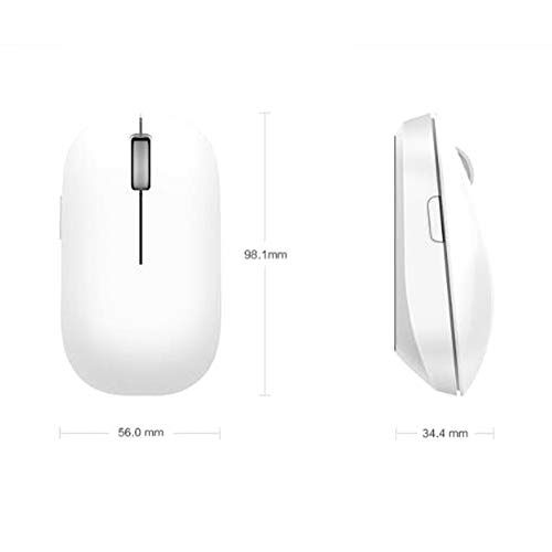 FGHFDX Maus Ursprüngliche drahtlose Maus 1200dpi 2.4Ghz optische Maus Mini bewegliche Maus für MI-Notizbuch-Laptop-Computer-Maus -