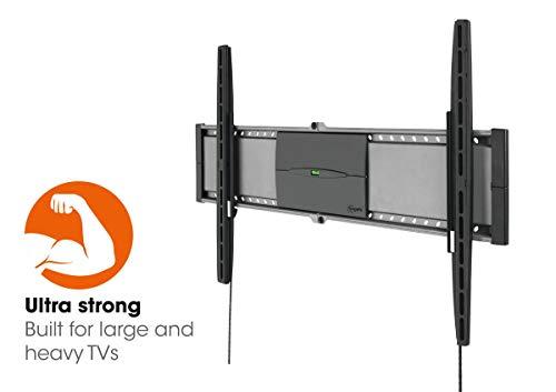 Vogel's EFW 8305 Ultrastarke TV-Wandhalterung für besonders größe (102-203 cm, 40-80 Zoll) oder schwere (max. 70 kg) Fernseher, starr, VESA max. 800 x 450, schwarz (Tv 80 Smart Sharp Zoll)