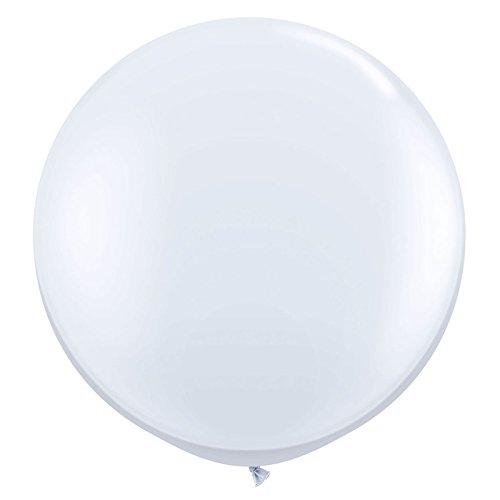 Raum Kostüm Riesen - PARTY DISCOUNT Riesen-Ballon, Ø ca. 90 cm, 1 Stk. weiß