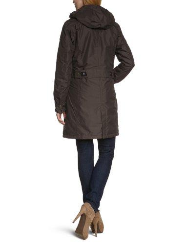 Northland Professional Damen kurzmantel mit Funktion Exo Sport Belinda Coat mocca