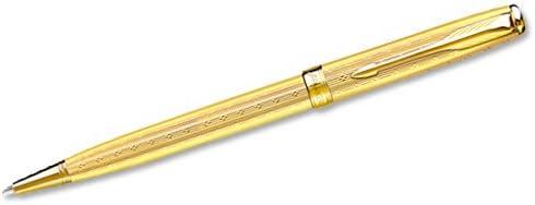 Parker - Sonnet Sonnet Sonnet 07  Penna a Sfera oro GT | Di Alta Qualità  | Delicato  | Imballaggio elegante e robusto  21093a