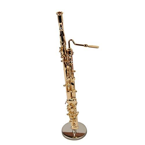 nstrument Modell Kupfer Fagott 15CM mit Geschenk Box ()