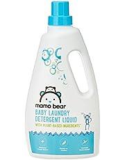 Amazon Brand - Mama Bear Plant Based Baby Laundry Detergent Liquid - 1 L