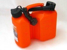 Stihl Kombi Kanister orange, Standard 3 und 1,5 Liter - 3 Kanister