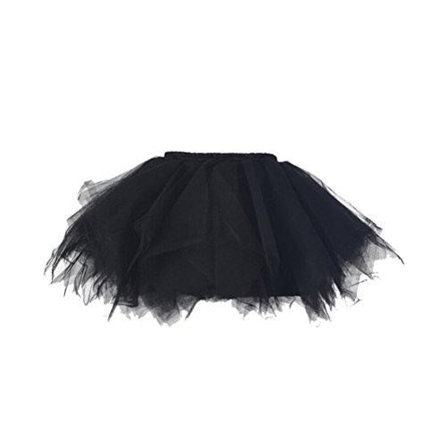 Honeystore Mädchen's Mini Ballet Petticoat Abschlussball Tanzabend Tutu Rock (Für Julia Kostüme Romeo Kinder Und)