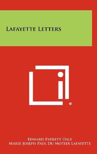 Lafayette Letters