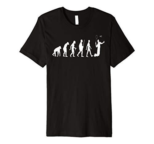 Badminton-Shirt Badminton Evolution des Badminton T Shirt