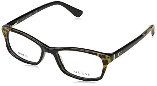 Guess Damen Brille Gu2616 50005 Brillengestelle, Schwarz, 50