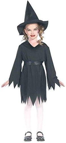 Kinder Kostüm sorciere lola schwarz mit Hut 152 cm 11/13ans (Kostüm Fille Sorciere)