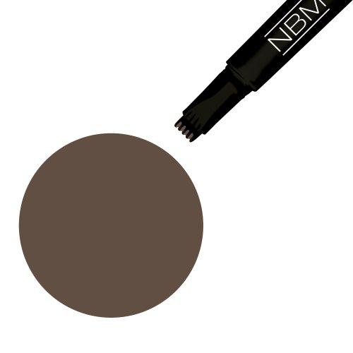 NBM, Matita per sopracciglia, colore: marrone (dark brown), 1,5 ml