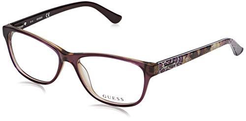 Guess Unisex-Erwachsene GU 081 53 Brillengestelle, Violett (Viola Luc),