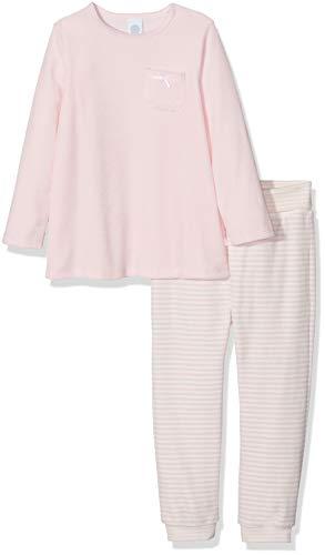 Sanetta Baby - Mädchen Pyjama Long Zweiteiliger Schlafanzug, per Pack Pink (Magnolie 3609.0), 98 (Herstellergröße: 098)
