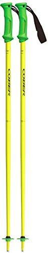 Cober vision bastoni da sci, giallo fluo, 125 cm