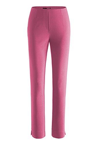 Stehmann - Stretchhose INA 740 - VIELE FARBEN - Mit EXTRA-Fashion Armreif -Gerade geschnittene Pull-On Hose mit Schlitz Flamingo