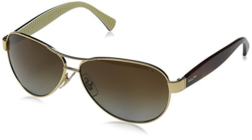 Ralph Lauren Purple Label Damen RA4096 106/T5 Sonnenbrille, Gold), One size (Herstellergröße: 59)