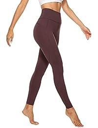 JOYSPELS Sporthose Damen Lang, Blickdichte Sport Leggings Yogahosen mit Taschen