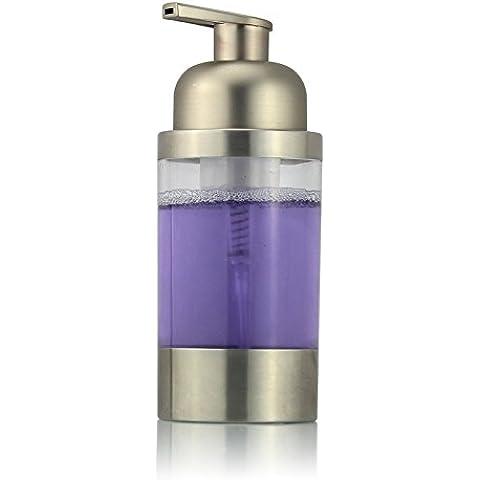 ZHANGYONG*Acciaio inossidabile 304 Countertop Soap di schiumatura erogatore di liquido (finitura satinata) in plastica della testa della pompa