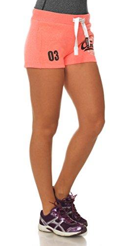 M.Conte Concetta Courts Pants Pantalons Sweat Pants Sport Pantalons femmes Bleu Neon Rose Blanc Rouge S M L XL Neon-Pink