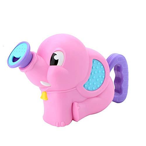 YIHANK Badespielzeug für Babys, Kinder Wasser Dusche Badewannenspielzeug Elefant für Kinder Baby ab 18 Monate+ - Elefanten-dusche