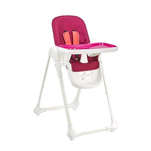 Chaise de bébé Pliante réglable en Hauteur pour Chaise de bébé Chaise Haute Multifonction pour bébé, Coin-Repas pour Enfants