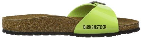 Birkenstock Classic MADRID   BF LACK, Sabot donna Verde (Grün (GREEN GLOW))