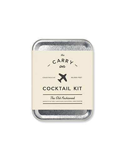 Die Carry On Cocktail Kit der Old Fashioned Old Fashioned Cocktail