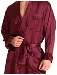 Leverie Noble Mens Dressing Gownsauna Robe With Hood And Cuffed
