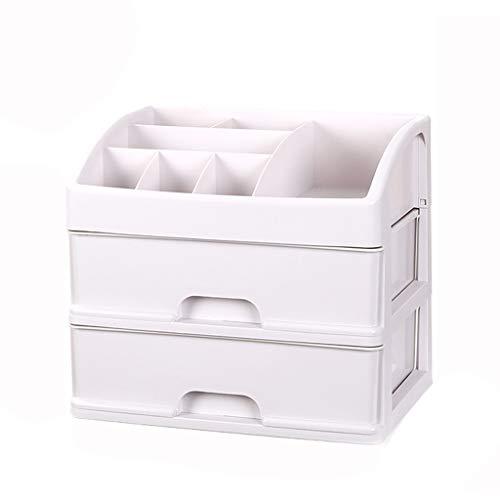 KKY-ENTER Type de tiroir Boîte de rangement pour cosmétiques Boîte de présentation en plastique de bijoux de produits de soin de la peau en plastique de rouge à lèvres simple
