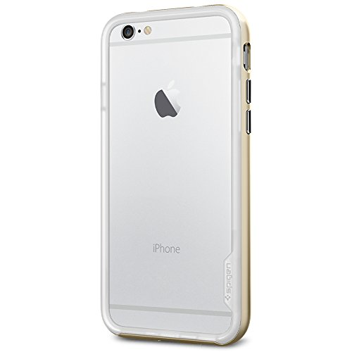 Spigen SGP11028 Neo Hybrid EX Series Case für Apple iPhone 6 Champagne Gold (Neo Spigen Iphone Series Hybrid 6)