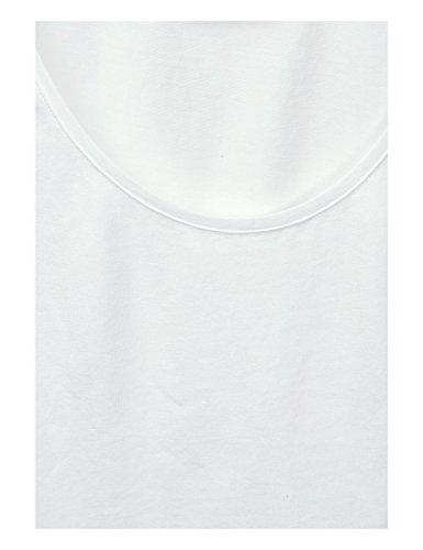 Street One Damen Top Weiß (Off White 10108)