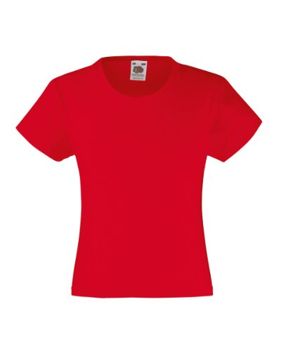 fruit-of-the-loom-girls-value-t-shirt-red-9-11