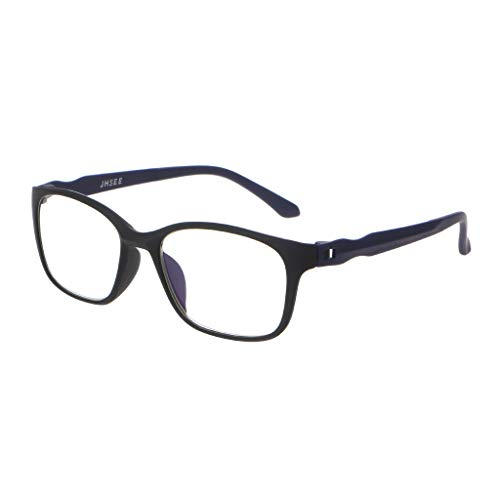 Lifet Frauen/Männer Lesebrille Lesehilfe Brillen TR90 Frame Anti-Blu-Ray Computer +1.00-4.00 (+ 1,5, Blau) -