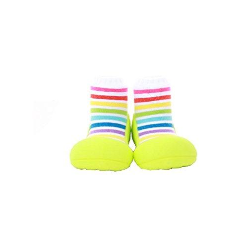 Attipas - Patucos bebé unisex algodón multicolor