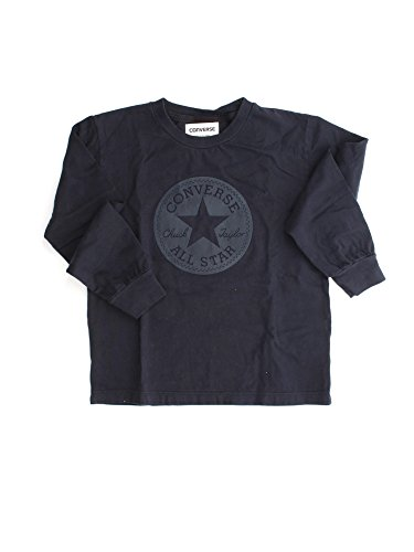 CONVERSE 6FK100 CT BOY RUBBER BLUE T-SHIRT M/LUNGA Unisex Junior BLUE 8Y