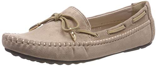 Bild von katliu Damen Geschlossene Ballerinas Bootsschuhe Casual Slip-on Slippers Flats Comfort Freizeit Schuhe Für Frühjahr Sommer Herbst