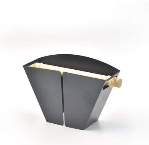 Kbwl 1 stück kaffeefilter karton kühlschrank basis box für die einfache lagerung von kaffeefilter, billige kaffeefilter schwarz (Karton-kühlschrank-box)