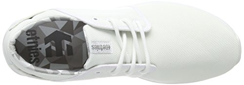 Etnies  Scout, Sneakers Basses homme Blanc (white/print)