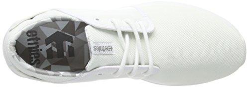 Etnies  SCOUT, Chaussures de Skateboard homme Blanc (white/print)