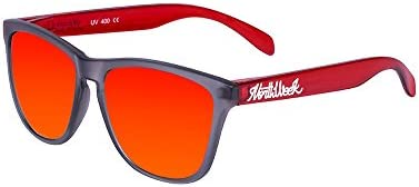 Northweek Regular Smoky Grey / Bright Red - Red Polarized - Gafas de sol unisex, multicolor