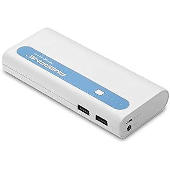 Ambrane 13000 mAh Power Bank P-1310 (White-Blue)