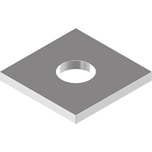 50 Stück Vierkantscheiben DIN 436 - Edelstahl A2 f.Holzkonstr.- 11,0 f.M10