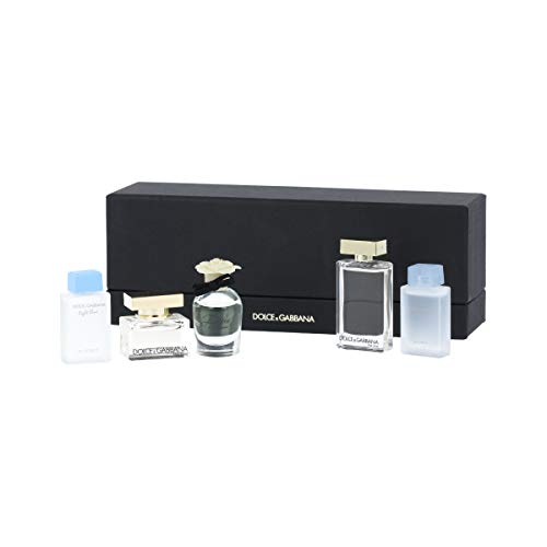 Dolce & Gabbana EDP 2 x 5 ml + EDP 4,5 ml + EDT 7,5 ml + EDT 4,5 ml W - 7,5 Ml Edt