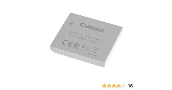 Original Battery For Canon Type Nb 4l Original Li Ion Camera Photo