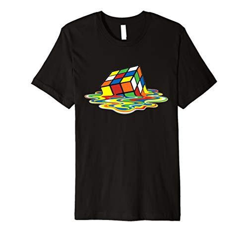 Melting Rubik Cube-T-Shirt