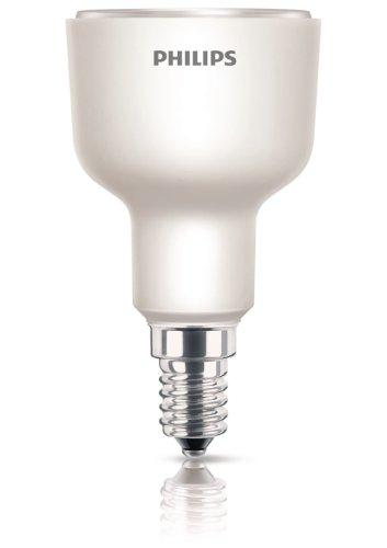 Philips Lighting Downl ES 8YR7W/Energy-Saving Bulb 7W E14230V Warm White R50 Test