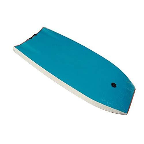 LJPzhp-Bodyboards Body Board 37-Zoll-Körperleine Slick Tail XPE Boogie Board für Kinder Erwachsene Für Strand, Surfen und Wassersport (Farbe : Blau, Größe : 37 inch)