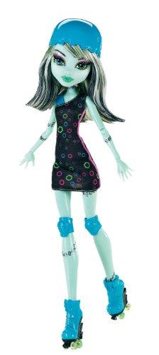 Imagen 6 de Monster High - Muñeca, Monstruopatinadora Frankie (Mattel X3672)