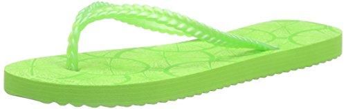 flip*flop Slim Lemon, Tongs femme Vert - Grün (356)
