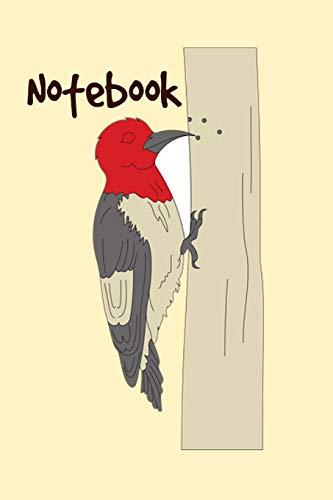 Notebook: Cute Woodpecker Homework Book Notepad Notebook Composition and Journal Gratitude Diary
